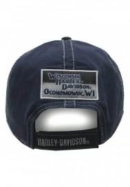 Casquette Harley Davidson Homme Block H-D Name Baseball Cap BC10389