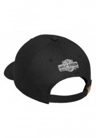 Casquette Harley Davidson Homme Willie G Skull & Shield Patch Baseball Cap 99492-17VM