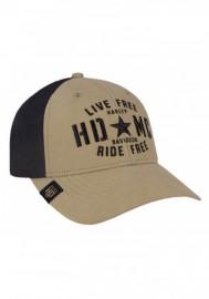 Casquette Harley Davidson Homme Military Star Colorblocked Baseball Cap Khaki BCC34312