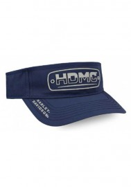 Casquette Harley Davidson Homme Silicone Lineation Plastic Snap Visor - Navy Blue VIS34031