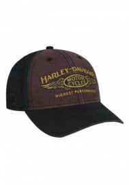 Casquette Harley Davidson Homme Highest Performance Stone Washed Baseball Cap BCC33668