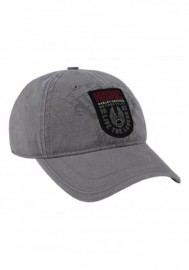 Casquette Harley Davidson Homme Forged Woven Patch Baseball Cap Gray Washed BCC31954