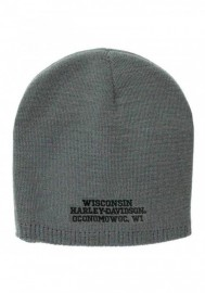 Casquette Harley Davidson Embroidered Elongated Bar & Shield Knit Beanie KNCUS022480