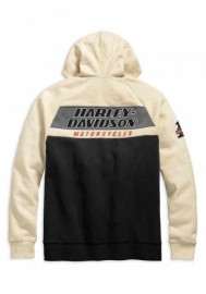 Harley-Davidson Hommes H-D Racing Colorblocked Zippered Sweat à capuche 99161-19VM