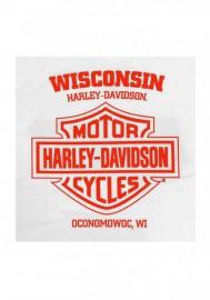 Harley-Davidson Hommes RWB Bar & Shield Logo manches courtes T-Shirt - White 30298739