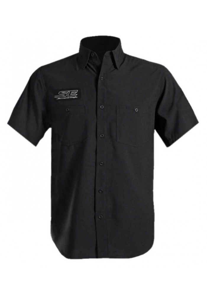 Harley-Davidson Hommes Screamin' Eagle Performance Wicking Vented Shirt - Noir ST26BK