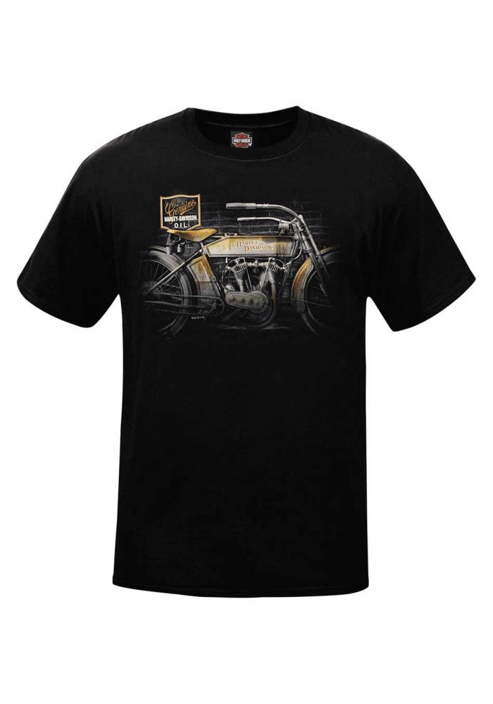 Harley-Davidson Hommes Better With Time Vintage col rond manches courtes T-Shirt R002689