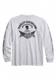 Harley-Davidson Hommes Wounded Warrior Project Stars & Stripes Shirt 99059-17VM
