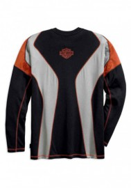 Harley-Davidson Hommes Performance manches longues Tee Shirt w/ Coolcore Tech 99198-19VM