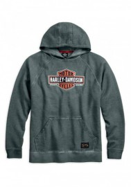 Harley-Davidson Hommes Genuine Classics Pullover Sweat à capuche Heather Gray 99030-17VM