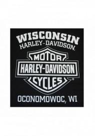 Harley-Davidson Hommes Way of Life Skull manches courtes T-Shirt Noir 30298308