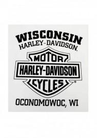 Harley-Davidson Hommes T-Shirt Willie G Skull manches courtes Tee Shirt White 30296643
