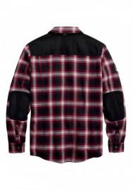 Harley-Davidson Hommes Arterial Abrasion-Resistant Riding Shirt Jacket 98124-20VM