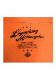 Harley-Davidson Hommes Bodyguard Premium manches courtes T-Shirt Orange Wash 30298585
