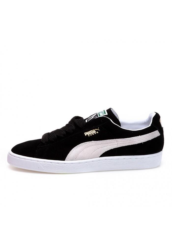 chaussure puma suede classic eco noir 35263403 homme. Black Bedroom Furniture Sets. Home Design Ideas