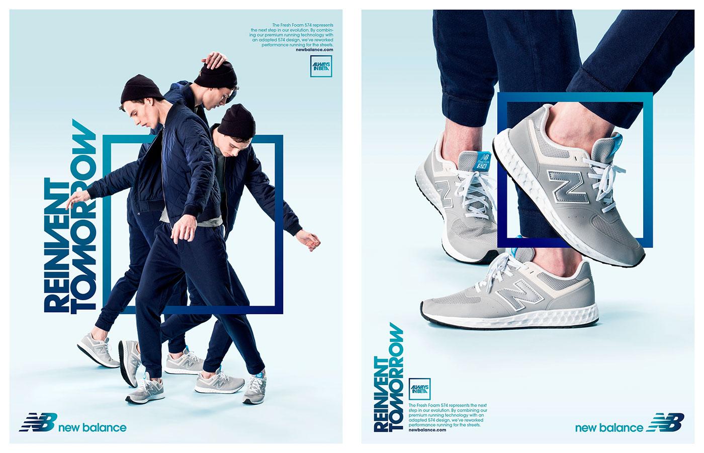 Chaussures de sport course New Balance Homme